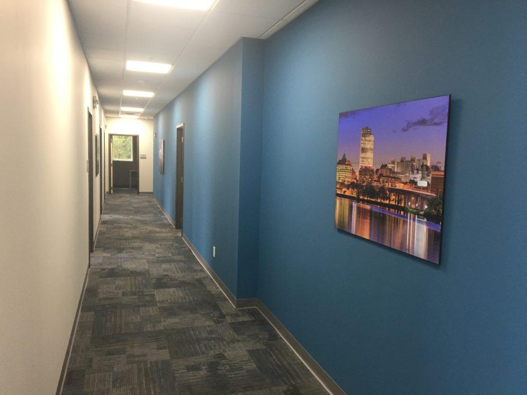 Hallway artwork will brighten up your day